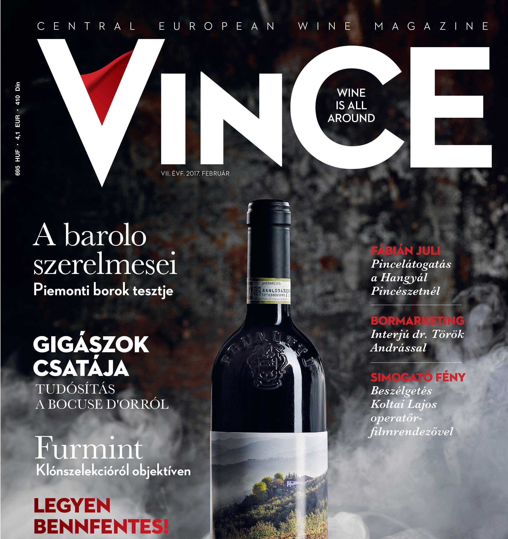 Pillantson bele a februári VinCE Magazinba!