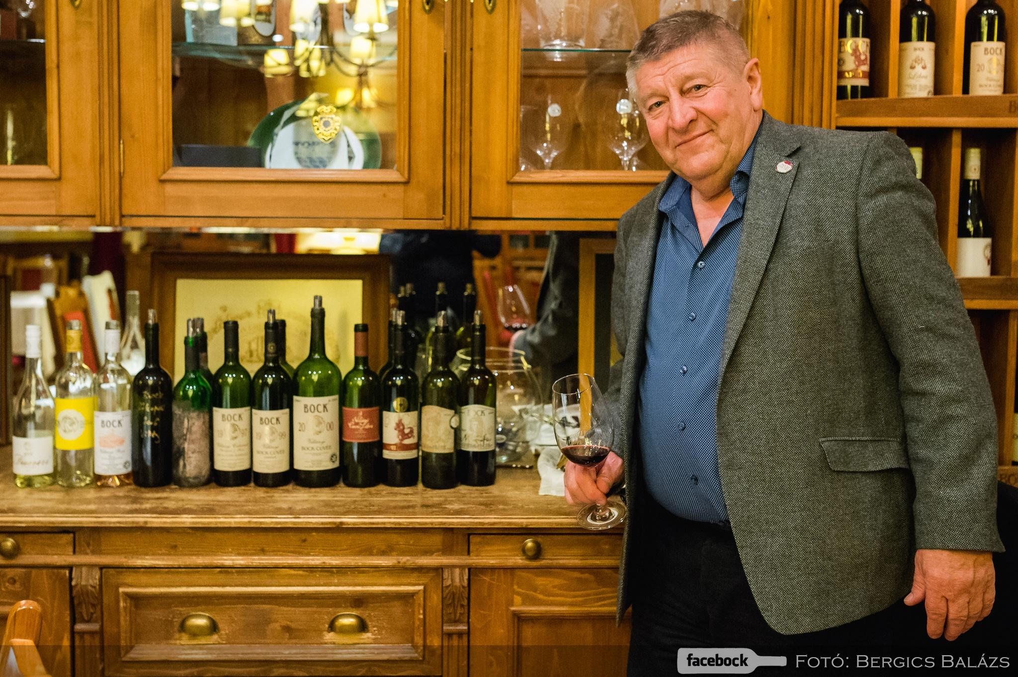 Megkóstoltuk Bock József kedvenc borait