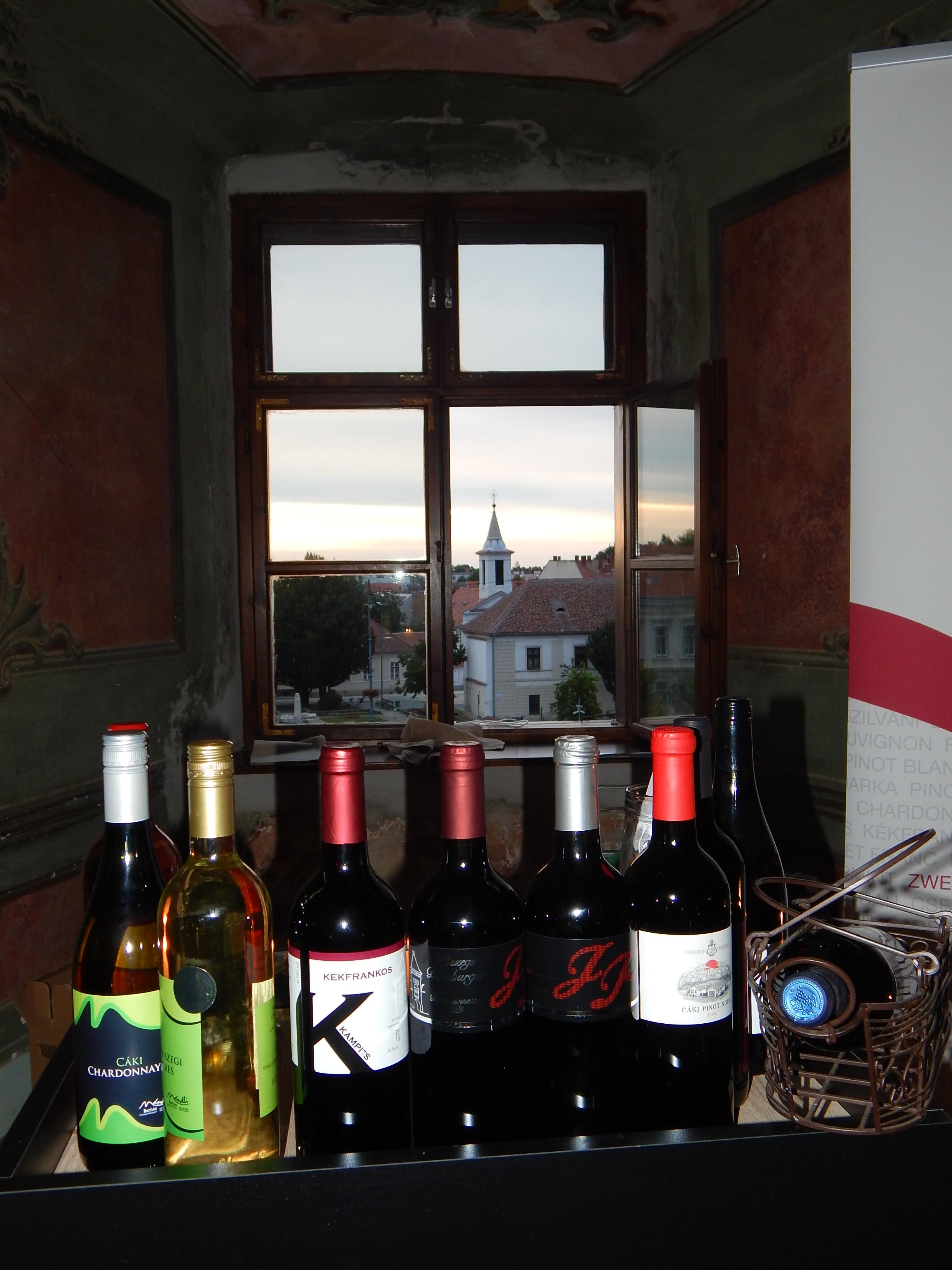 Borkóstoló a Nádasdy-vár ódon falai között