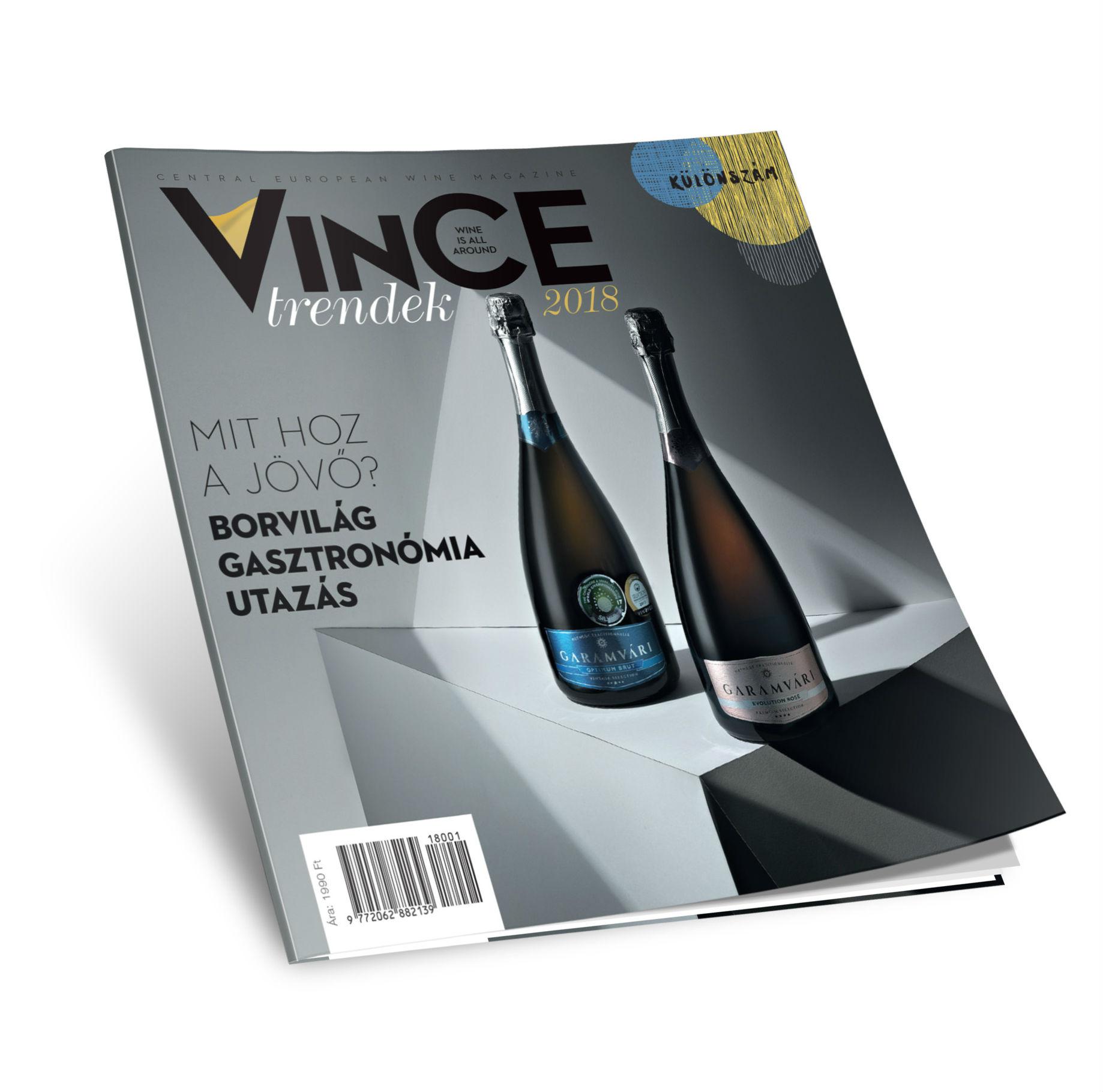 Mit hoz a jövő a borvilágban? A VinCE Magazin különszámából kiderül!