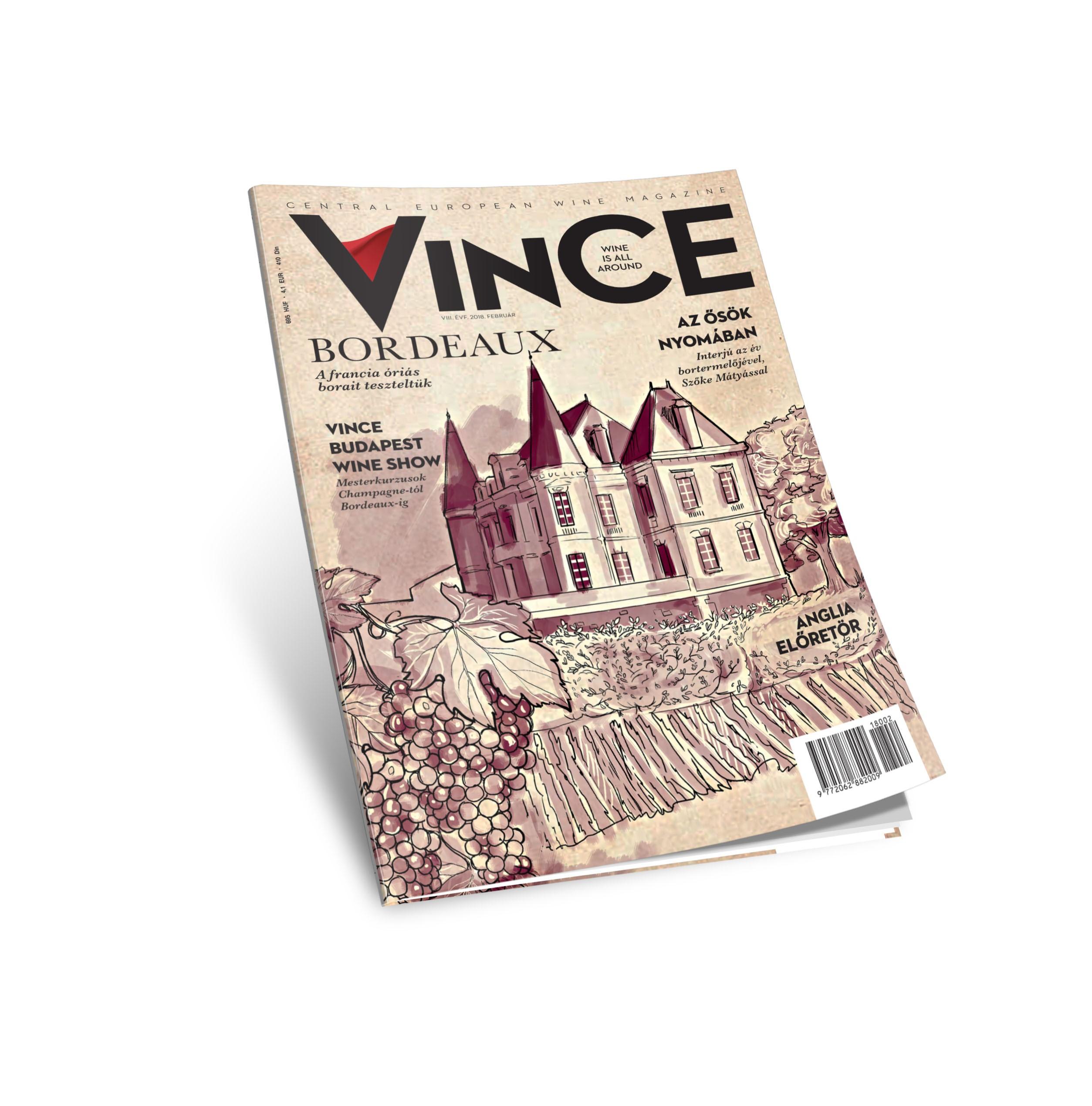 Mi a jó a februárban? Például a VinCE Magazin legújabb száma!